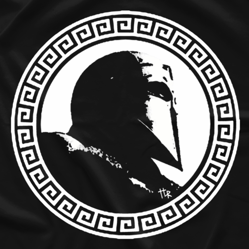 Tom La Ruffa Greco-Roman Warrior T-shirt
