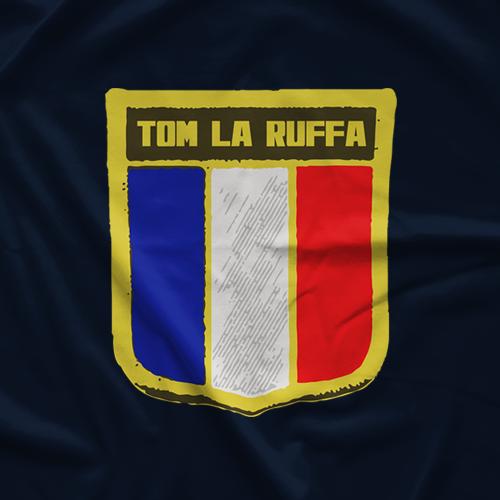 Tom La Ruffa French Flag T-shirt