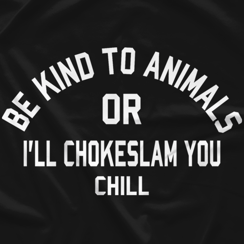 Be Kind to Animals - Black