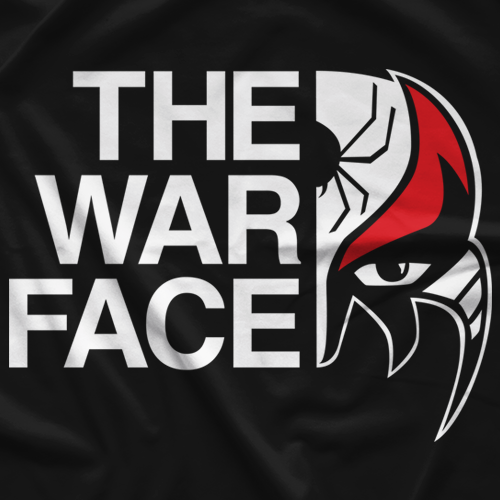 Top Rope Tuesday The War Face T-shirt