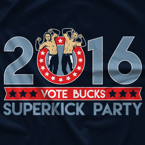 Top Rope Tuesday Vote For The Bucks T-shirt