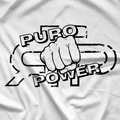 Top Rope Press Puro Power T-shirt