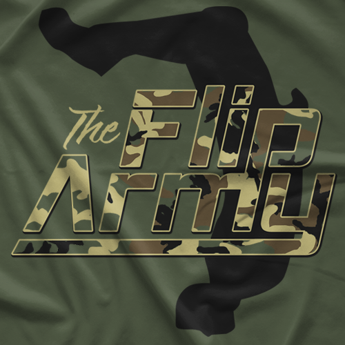 Travis Gordon Flip Army T-shirt