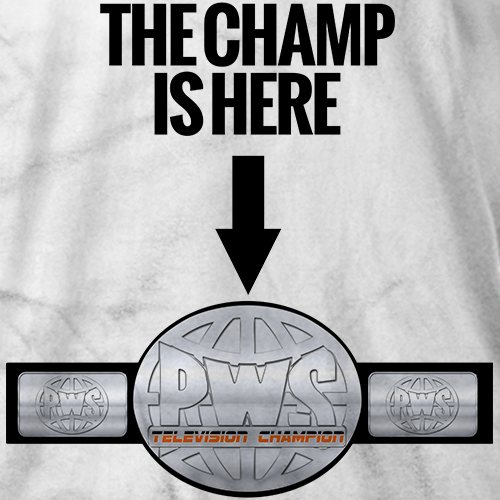 The Champ Is Here T-shirt