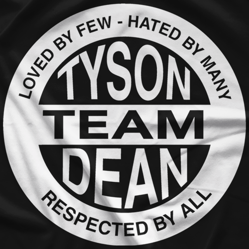 Team Tyson T-shirt