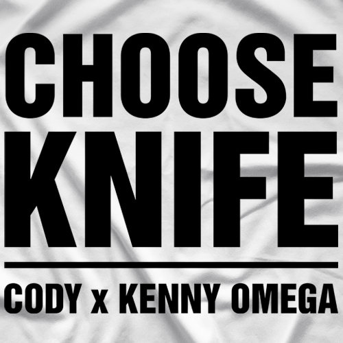 Kenny Omega Choose Knife T-shirt