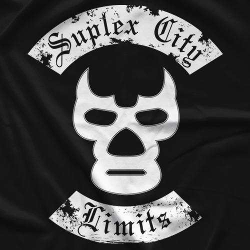 Suplex City Limits Black label SCL T-shirt