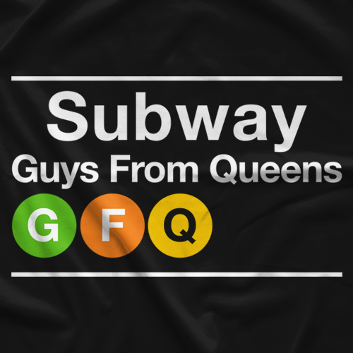 GFQ Network Subway T-shirt