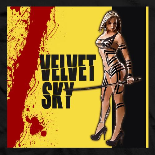 Velvet Sky Kill Bill T-shirt