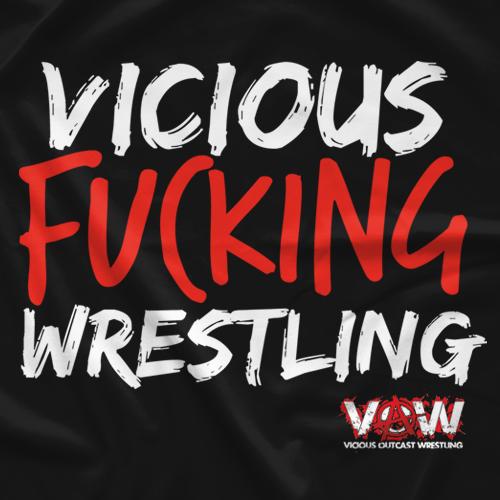 Vicious FN Wrestling T-shirt