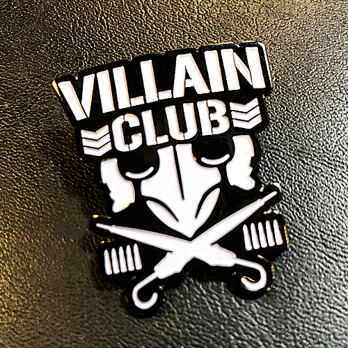 Villain Club Pin