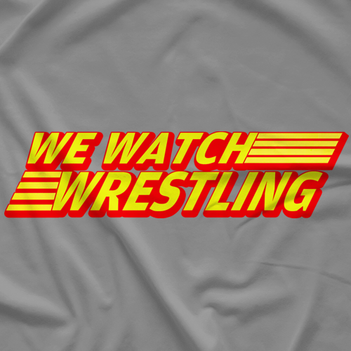 We Watch Wrestling Nintendo T-Shirt