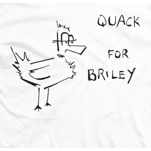 Quack for Briley - White