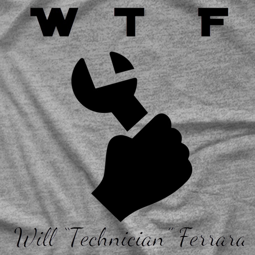 Ethan Page WTF Technician T-shirt