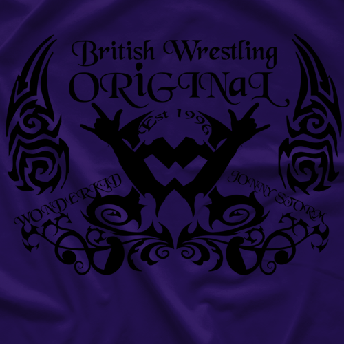 British Wrestling Original T-shirt
