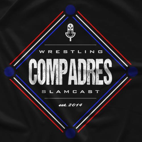 Wrestling Compadres New Era Logo T-shirt