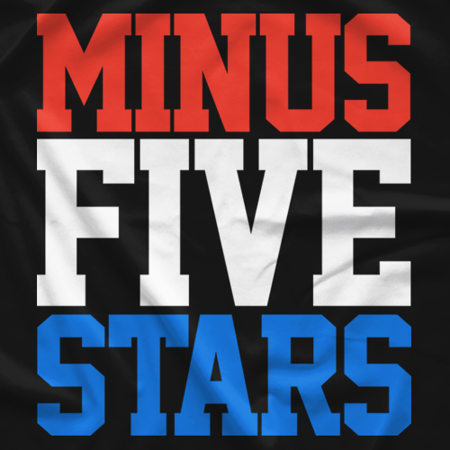 Bryan Alvarez Minus Five Stars