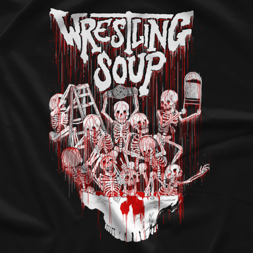 Wrestling Soup Red Death T-shirt
