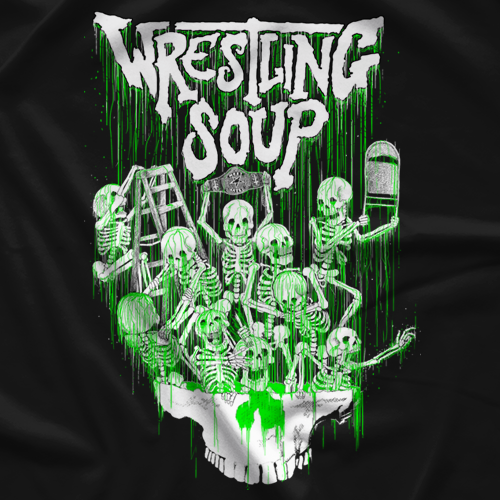 Wrestling Soup Toxic Ooze T-shirt