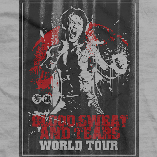 Yoshitatsu Blood, Sweat, and Tears Grey T-shirt