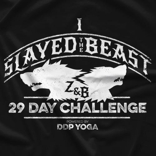 Zach Gowen DDP Yoga Challenge T-shirt