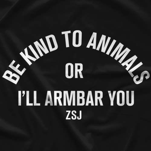 Zack Sabre Jr Be Kind To Animals T-shirt