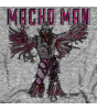Macho Man Sketch by 500 Level T-shirt