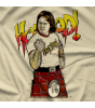 Rowdy Roddy Piper Fist R by 500 Level T-shirt