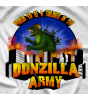 Don Tony And Kevin Castle Show Donzilla Army T-shirt