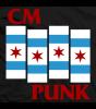 CM Punk Punk Flag T-shirt