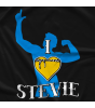 Freelance Wrestling I Heart Stevie T-shirt