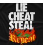 Lie Cheat Steal Repeat T-shirt