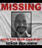 Missing Senor Benjamin T-shirt