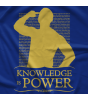 Freelance Wrestling Knowledge Is Power T-shirt