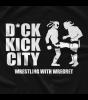 Wrestling With Wregret D*ck Kick City T-shirt