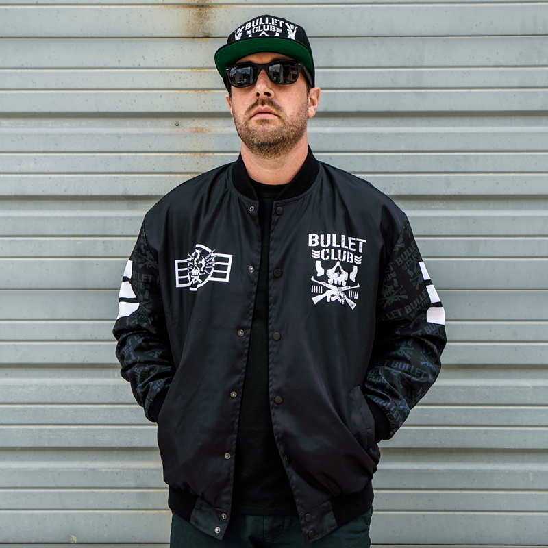PRE-ORDER: Sublimated Bullet Club Retro Style Jacket (Limited Run 8-10 Weeks To Ship)