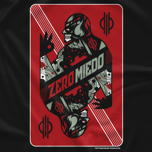 Penta El Zero M - Zero Miedo Playing Card by Rockets Are Red