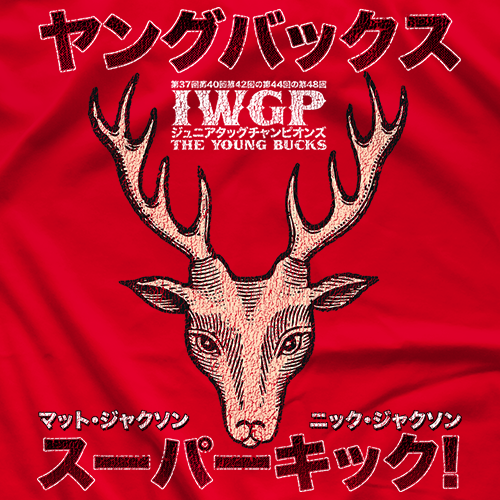 - Clotheslined Apparel - Vintage Soft T-shirt Young Bucks