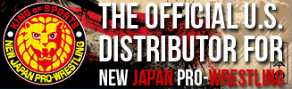 The Official US Distributor for New Japan Pro Wrestling