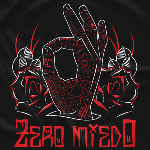 MR Throwback: Penta Zero M - Zero Miedo Tattoos Black
