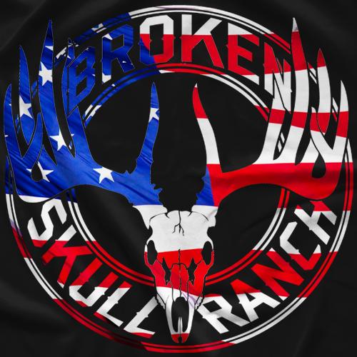 Steve Austin BSR American Flag T-shirt