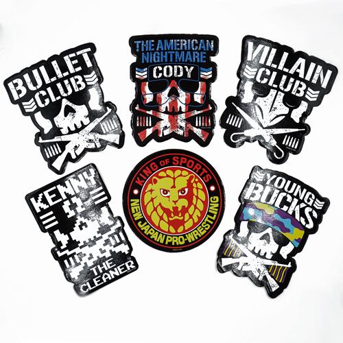 Bullet Club / NJPW Stickers