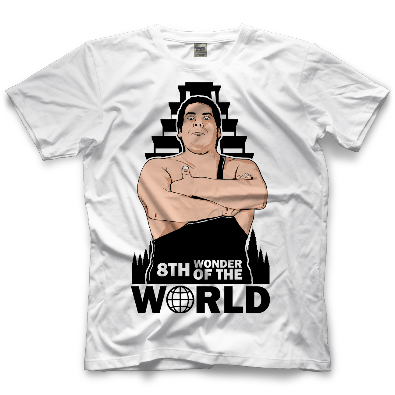Andre The Giant 8th Wonder Of The World T-shirt