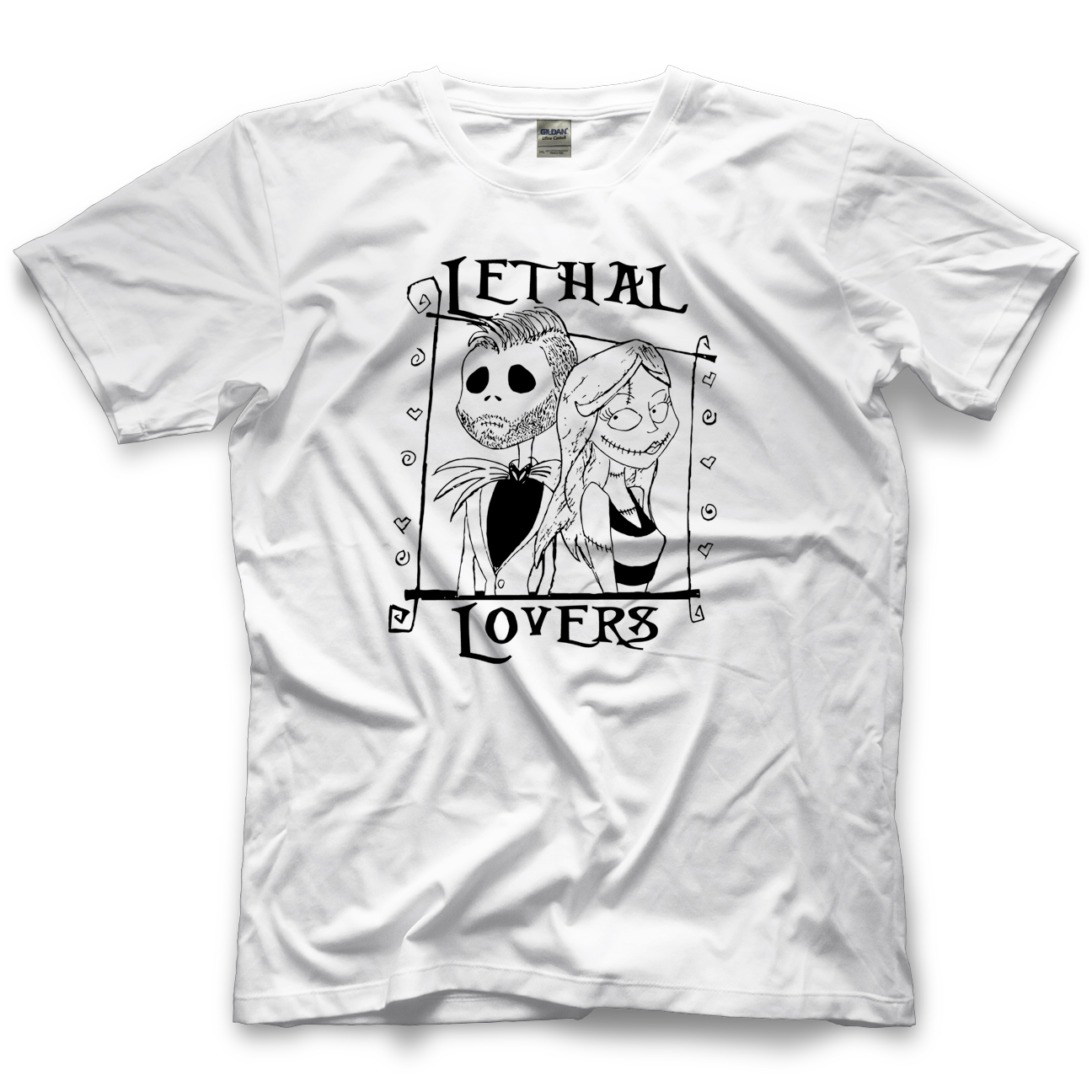 Lethal Lovers White T-shirt
