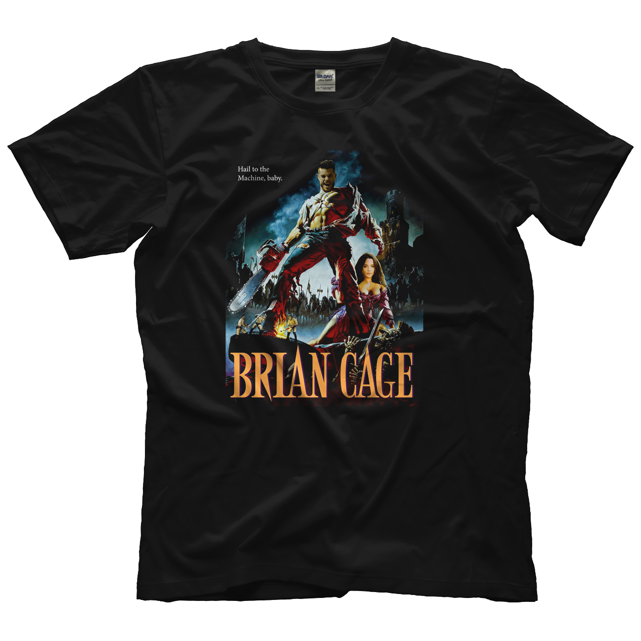 Brian Cage Army of Cage T-shirt