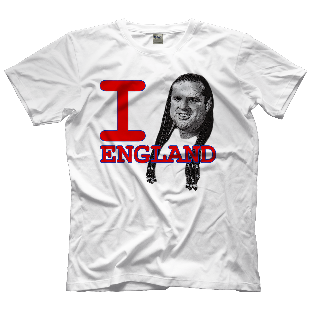 British Bulldog I Heart England T-shirt