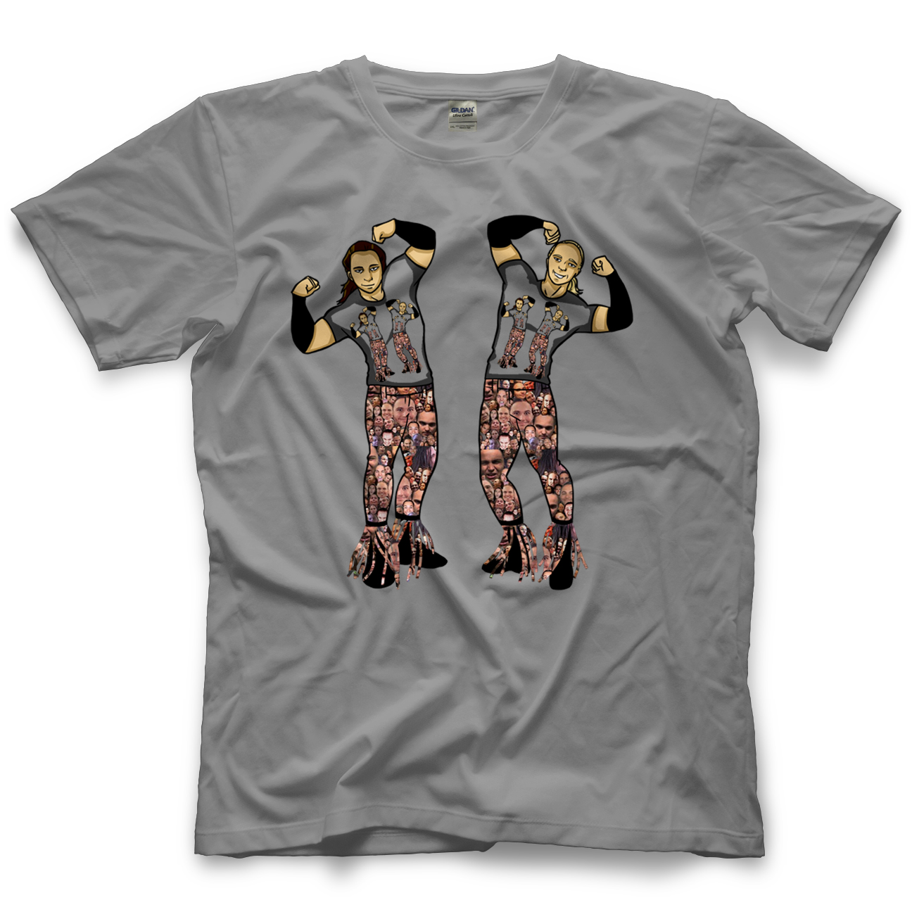 The Young Bucks Bucks Shirt Within A Shirt T-shirt