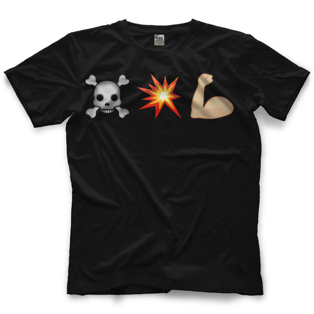 Chris Hero Death By Emoji T-shirt