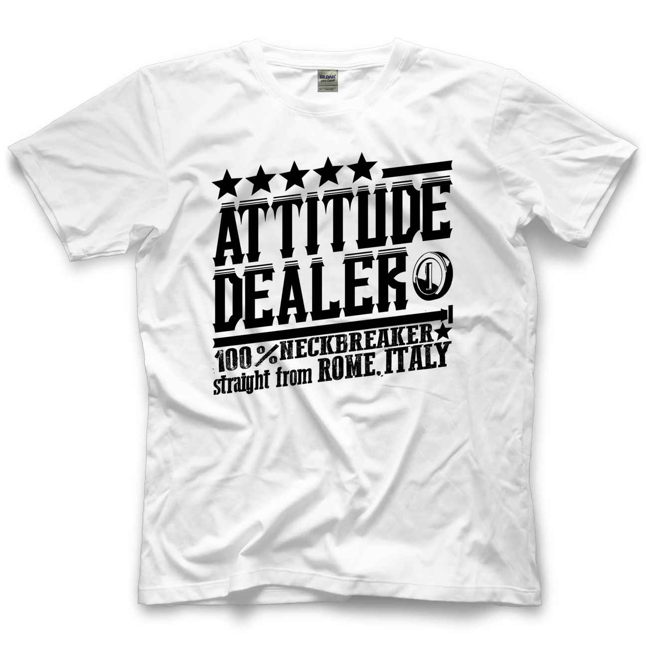 Chris Steel Attitude Dealer T-shirt