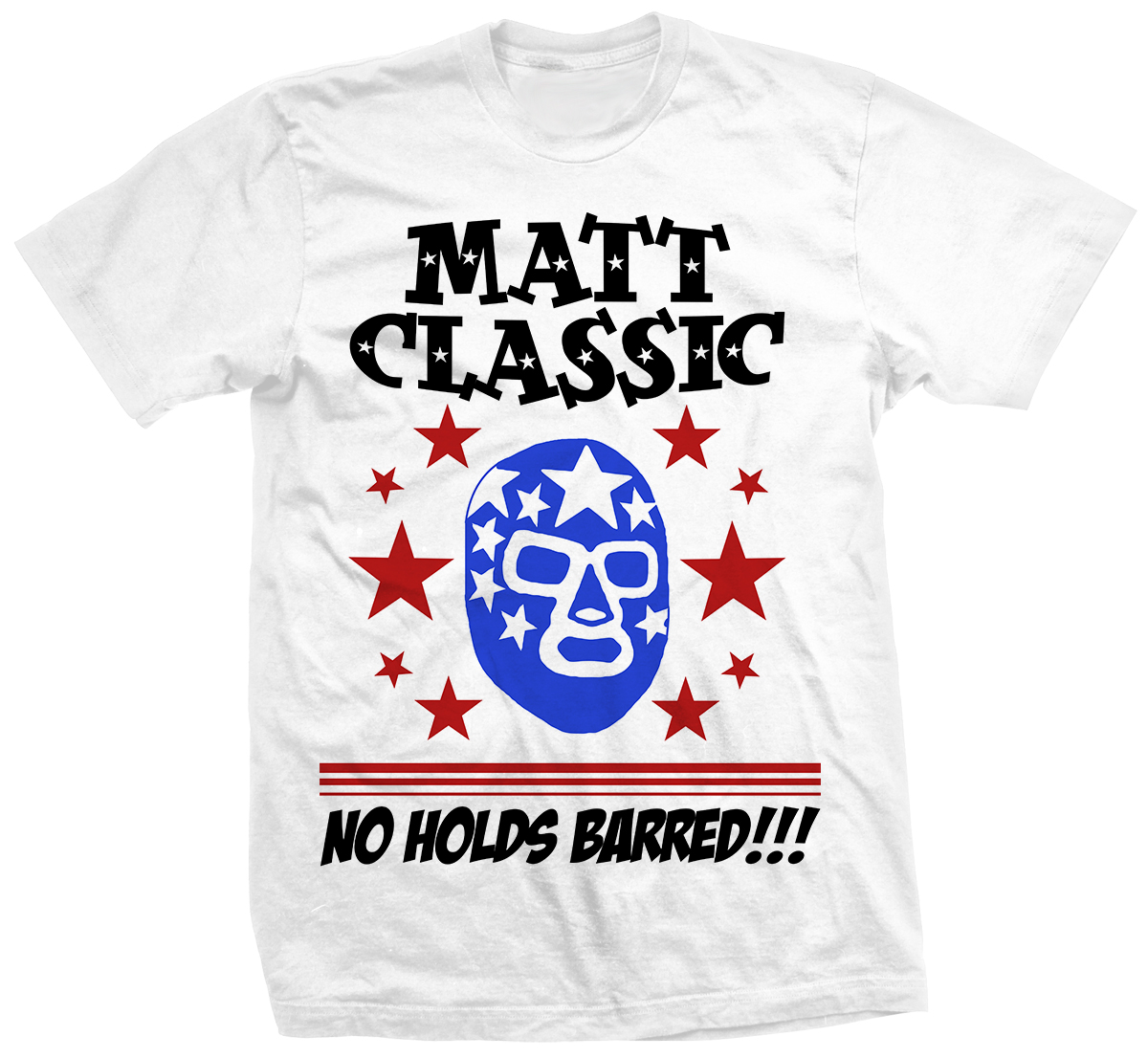 Matt Classic No Holds Barred T-shirt